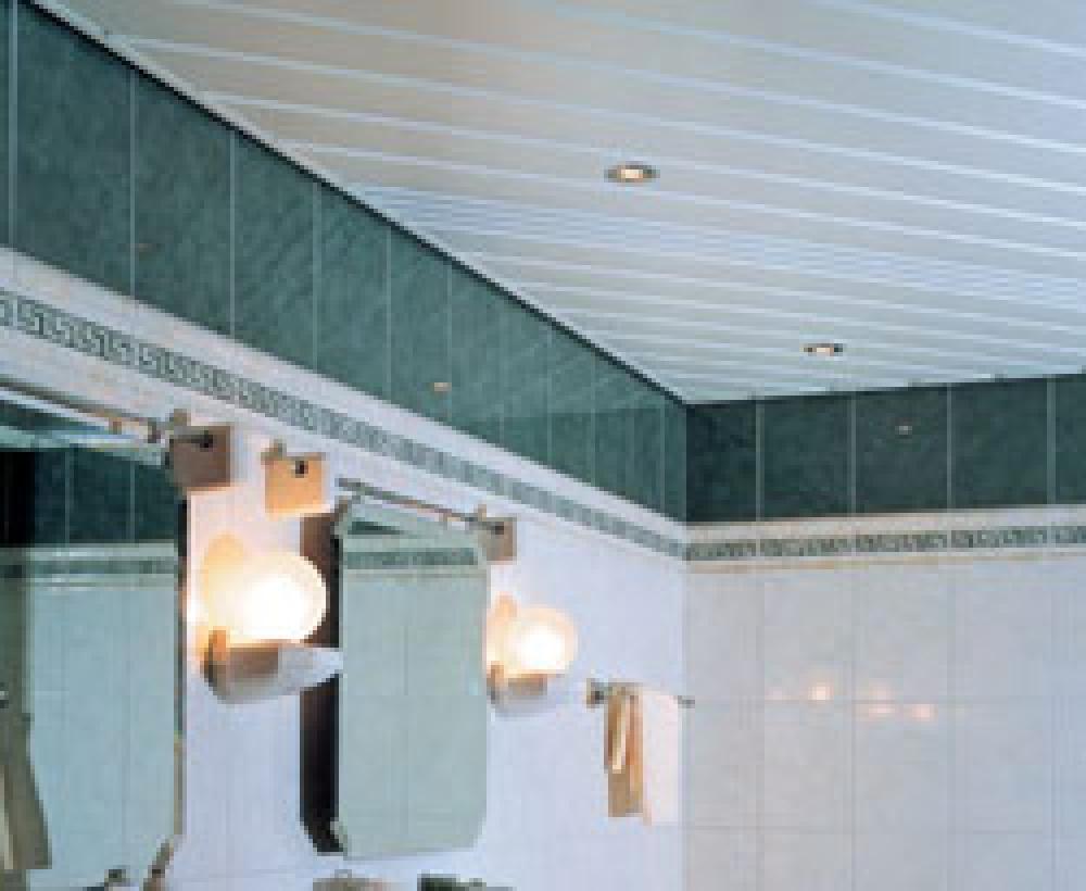 badkamer aluminium plafonds
